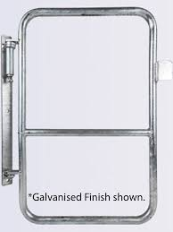 Self Closing Stair Gate by Global Walkway Self Closing Full Height Ladder Safety Gates