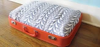 Homemade Dog Beds Diy Craft Vintage Suitcase Dog Bed Modern Dog Magazine