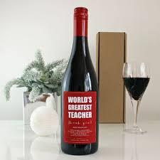 Wine Christmas Gifts Christmas Gifts For Teachers Notonthehighstreet Com