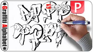 graffiti alphabet buchstabe p letra p letter p youtube