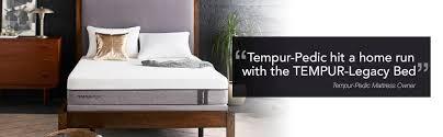 amazon com tempur legacy soft mattress king kitchen u0026 dining