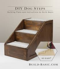 Elevated Dog Bed With Stairs Build Diy Pet Steps U2039 Build Basic