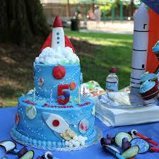 astronauts vs aliens birthday party part 2 cake student
