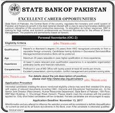 current job opportunities karachi state bank of pakistan job opportunity 29 10 17