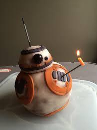 star wars bb8 birthday cake