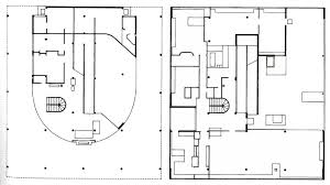 Chapel Floor Plans And Elevations Plans Villa Savoye Le Corbusier Villa Savoye Pinterest