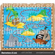 treasure map clipart treasure map clipart 1107416 illustration by visekart