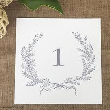 what size are table number cards wedding table number cards reception table numbers wedding