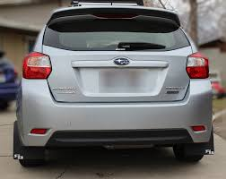 subaru sti 2016 white rally mud flaps for the u002712 subaru impreza 2 0 sport free
