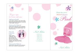 nail salon 1 print template pack from serif com