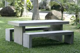 cement table and bench concrete garden table concrete garden table 3 concrete garden tables