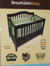 breathablebaby breathable mesh crib liner bumper alternative