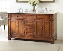 Adelina  Inch Mission Double Sink Bathroom Vanity Fully - Bathroom vanities double sink 2