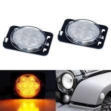 led lights for jeep wrangler jk side marker fender flare ls for 07 17 jeep wrangler jk
