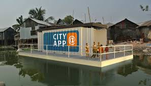 could floating shipping containers help sort out the world u0027s slums