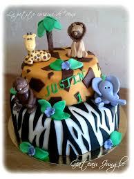decoration cupcake anniversaire gâteau d u0027anniversaire jungle la petite cuisine de nini