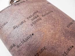 wedding gift shop resolute star6oz wood flask real mahogany wood groomsman groom