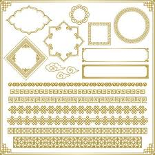 ai ornament elements vector free pikoff