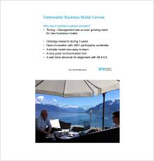 simple business model template business model canvas template u2013 20 free word excel pdf