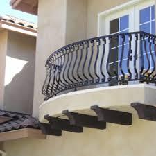 wrought iron railings venice ca hand railings balcony railings