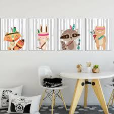 toile chambre enfant tableau poster decoration trendisy deco toile chambre enfant