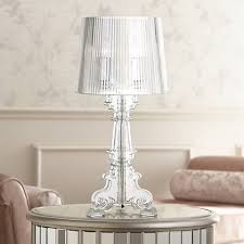 Acrylic Accent Table Baroque Clear Acrylic 20 High Accent Table L 97645 Ls Plus