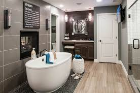 modern master bathroom with freestanding bathtub u0026 master bathroom
