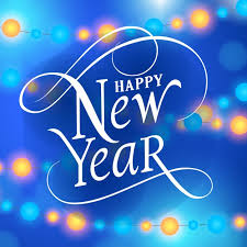 happy new year backdrop happy new year background with lights vector premium