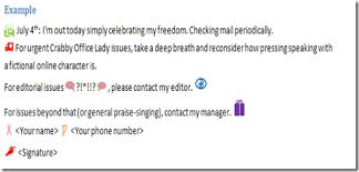 have fun with out of office messages u2013 templates blog