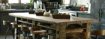 blair center dining table bungalow rustic edge