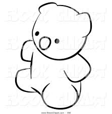 bear clipart black and white free clip art images freeclipart pw