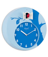 cozy wall clocks with sound 125 wall clock with bird songs wall