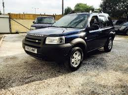 lhd land rover freelander 2003 diesel td4 left hand drive in