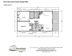 recreational cabins recreational cabin floor plans pine mountain cabin 840 by recreational resort cottages