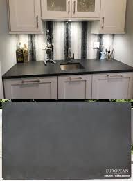 want a unique countertop surface this kitchen countertop features