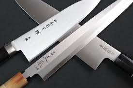 katana kitchen knives kanetsugu knives legendary katana sharpness knife from seki
