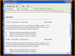 resume templates in wordpad 9 resume template for wordpad top resume templates resume