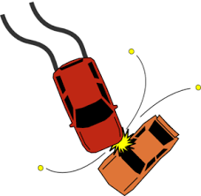 animated wrecked car auto gifs clipart 50