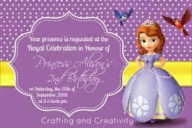 sofia the birthday crafting and creativity my s 2nd birthday party sofia