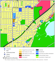 Madison Map Madison Neighborhood Profile Westmorland Neighborhood Association
