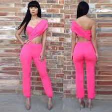pink jumpsuit womens jumpsuits clubwear jumpsuits overalls jumpsuit for