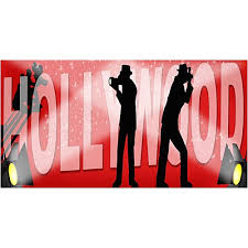 Hollywood Backdrop Hollywood Props Large Hollywood Decorations