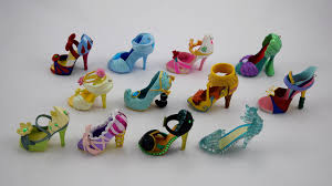 disney parks princess shoe ornaments complete collection flickr