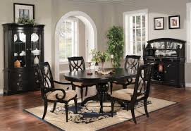 Black Round Kitchen Table Dining Room Unique Round Captivating Black Kitchen Table Home
