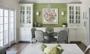 Dining Room Glass Cabinets by Built In Buffet Design Ideas Dining Room Contemporary With Ceiling