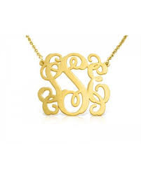 gold monogram gold monogram necklaces the name necklace