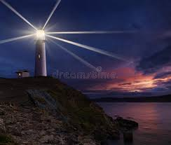 light house at night lighthouse at night stock image image of landmark dusk 72900389