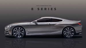 car bmw 2018 see the bmw 8 series take shape in teaser based render