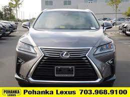 rx lexus 2017 lexus rx 350 for sale in chantilly va pohanka lexus