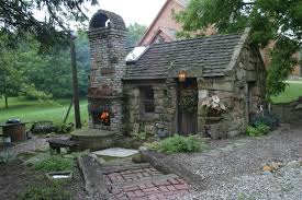 Discount Outdoor Fireplaces - indoor outdoor fireplace patio and garden shed re purposed barn